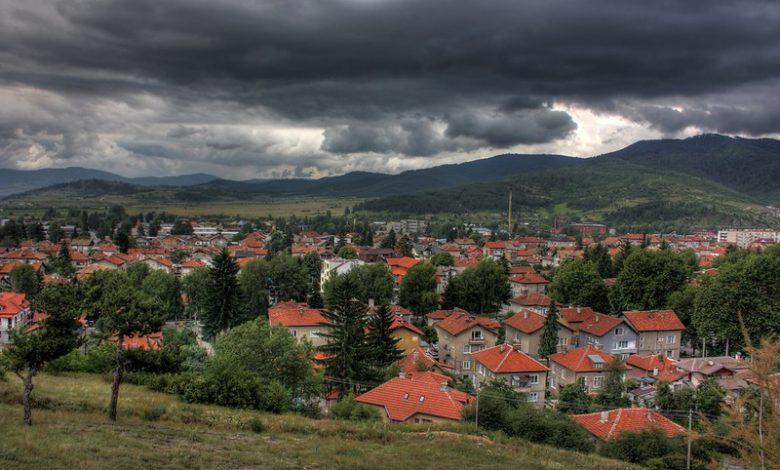 Планинско градче